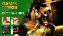 Październik 2019 - darmowe gry w Games With Gold