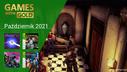 Październik 2021 - darmowe gry w Games With Gold