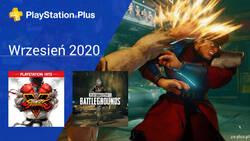 Wrzesień 2020 - darmowe gry w PlayStation Plus