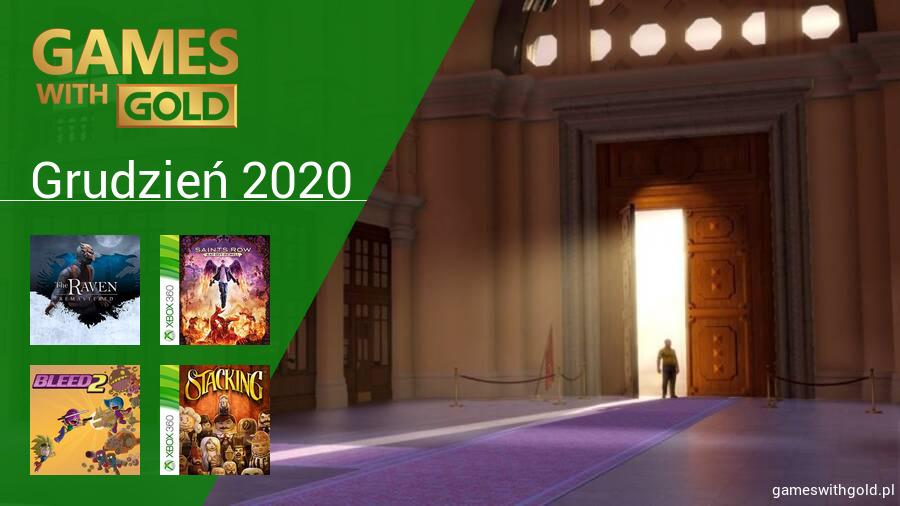 Grudzień 2020 - darmowe gry w Games With Gold