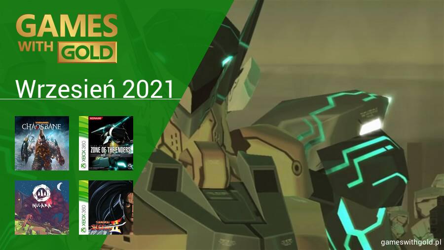 Wrzesień 2021 - darmowe gry w Games With Gold